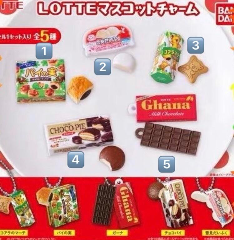 Bandai Lotte Koala Choco Pie Charm Mascot