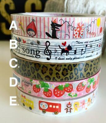 Japan Kawaii Deco Tape