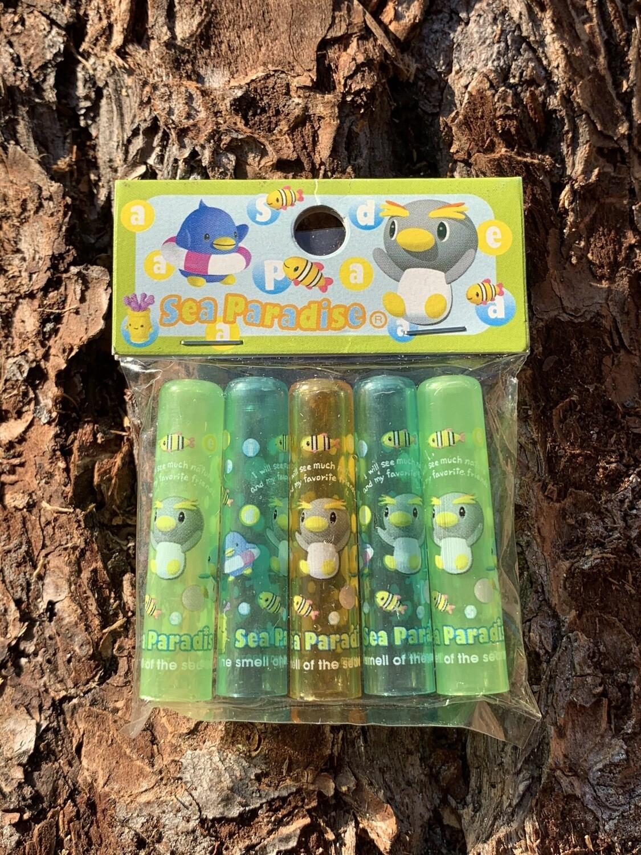 Japan San-X 1998 Sea Paradise Pencil Caps