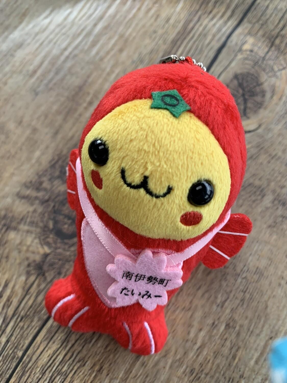 "Japan Minamiise Town 4"" Fish Mascot Plush Strap"