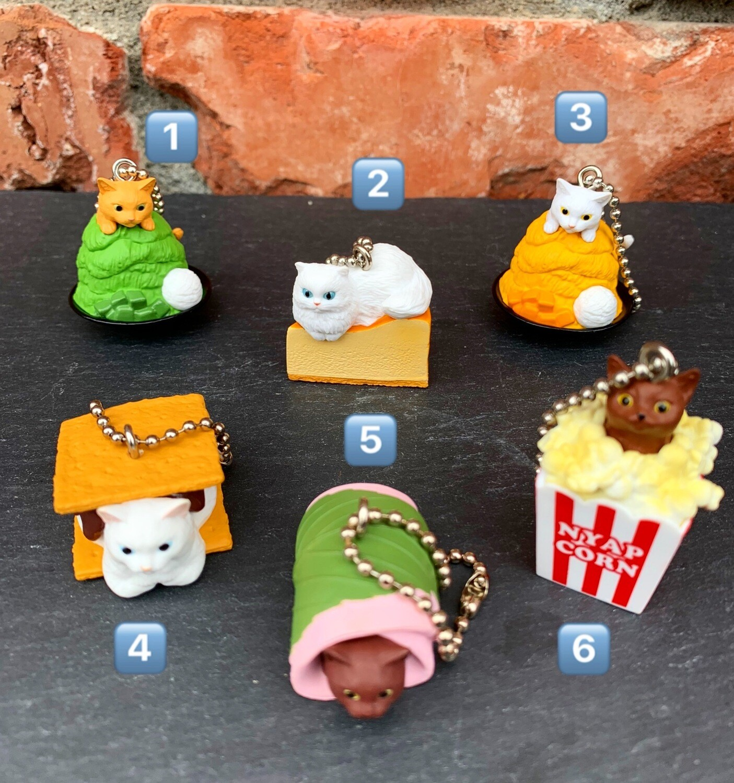 Bandai Dessert Kitty Charm Keychain