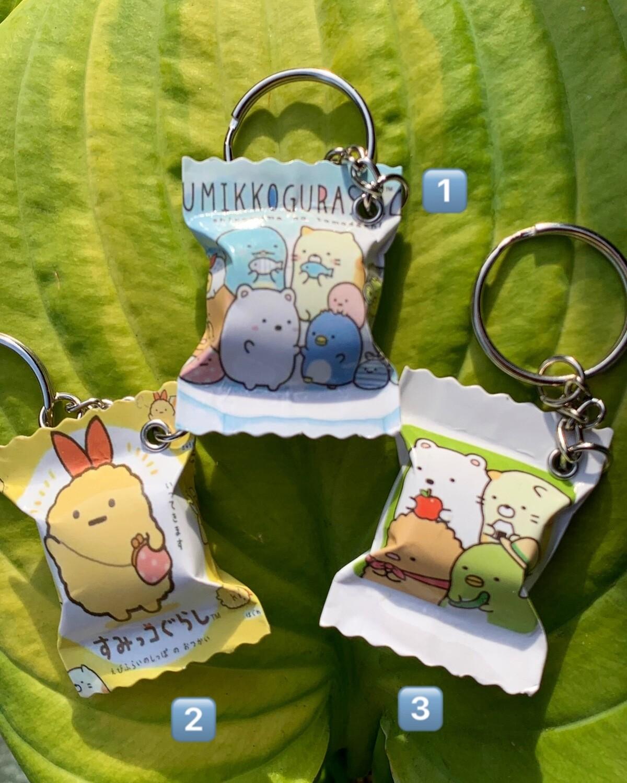 San-X Sumikogurashi  Candy Keychain