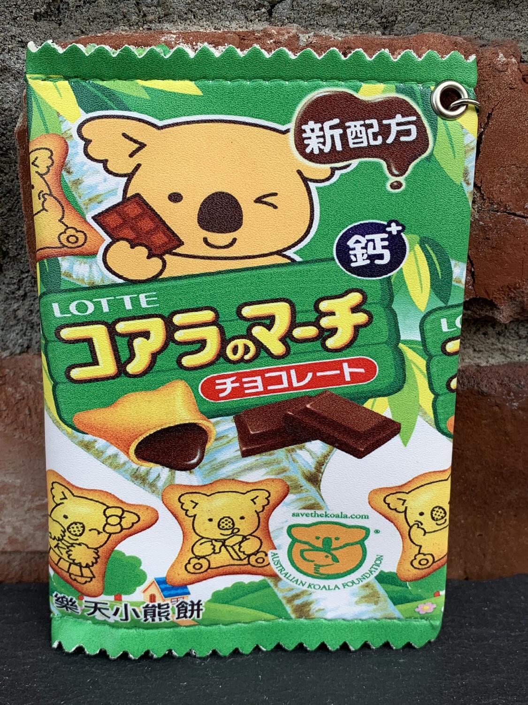 Koala Bear Zipper Pouch (Green)