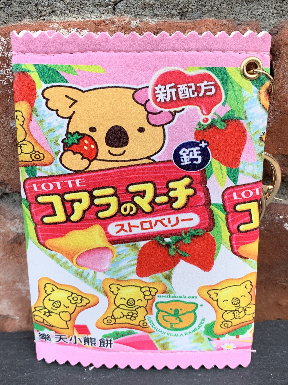 Koala Bear Zipper Pouch (Pink)