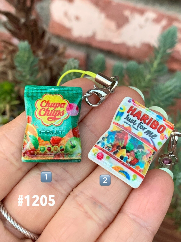 Haribo / Chupa Chups Candy Charm Mascot Strap