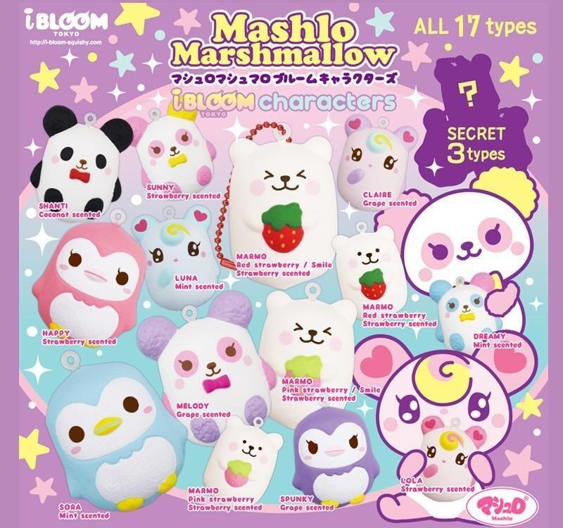 iBloom Mini Mashlo Marshmallow Squishy