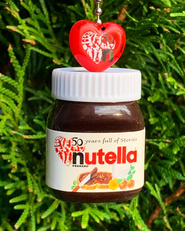 Nutella Bottle Charm Strap