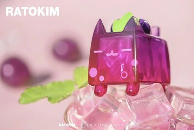 RATOKIM Drinking Box Cat - Grape