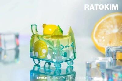 RATOKIM Drinking Box Cat - Lemon Soda