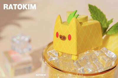 RATOKIM Drinking Box Cat - Pineapple Juice