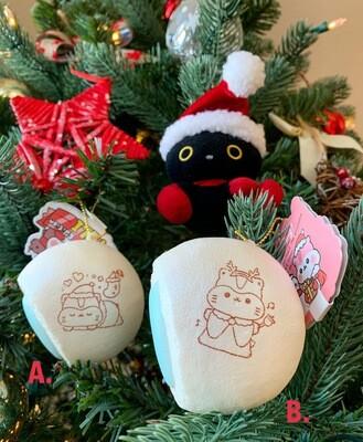 Poli Christmas Cream Bun Squishy