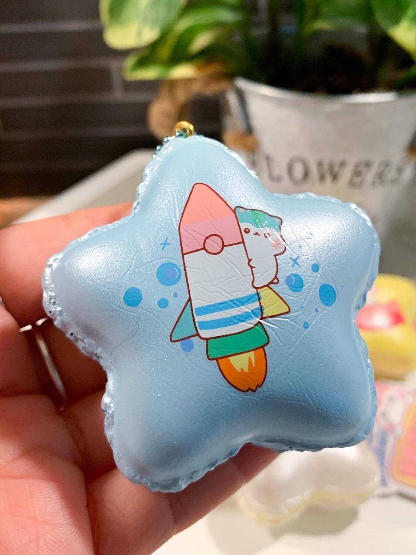 Poli Star Mini Macaron Squishy
