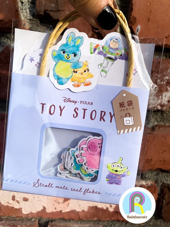 Kamio Toy Story Stickers Sack