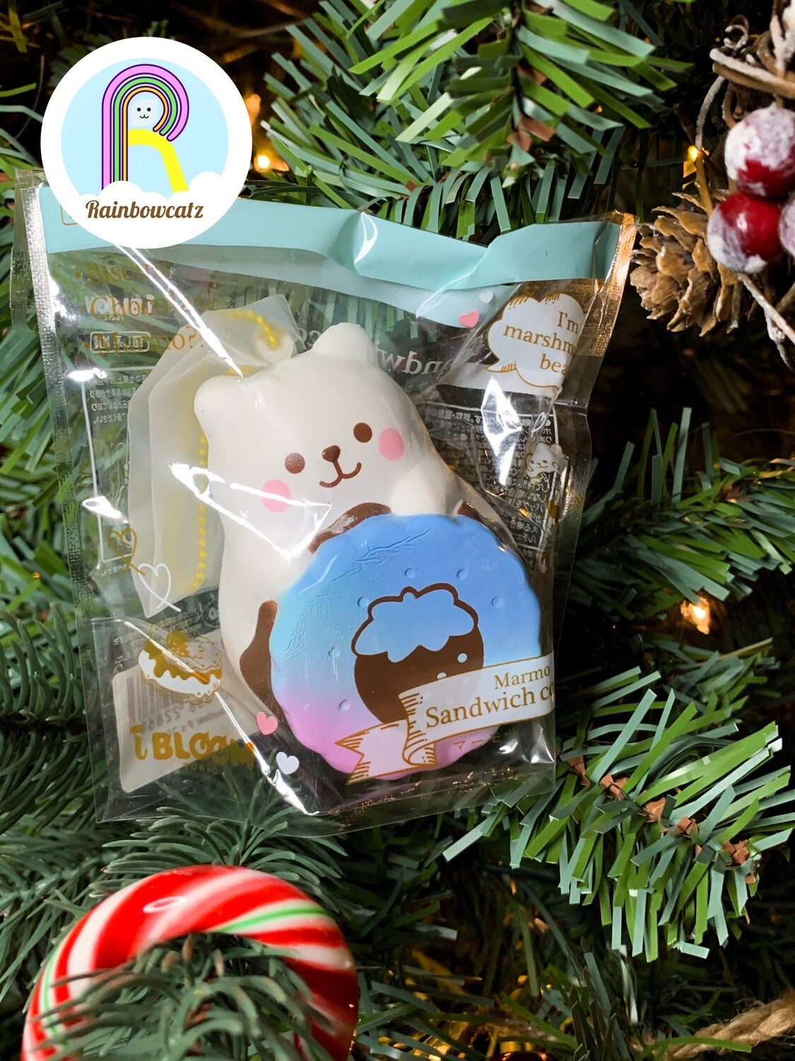 [Limited Edition] IBloom x PJAS J Marmo Sandwich Cookie Squishy - Cosmo