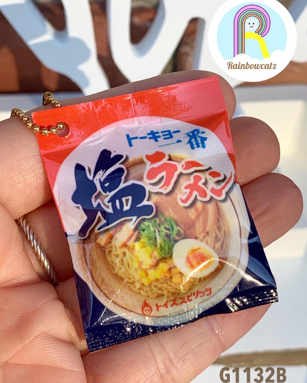 Toys Spirits Ramen Noodle Squishy Keychain Gashapon