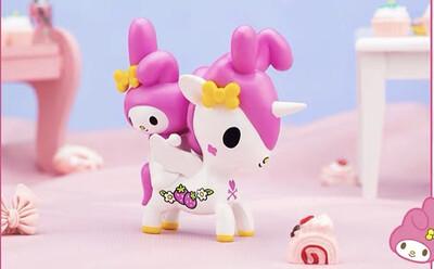 Tokidoki Unicorno X Hello Kitty & Friends Figure (My Melody)