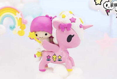 Tokidoki Unicorno x Hello Kitty & Friends Figure (Little Twin Stars - Lala)