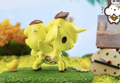 Tokidoki Unicorno X Hello Kitty & Friends Figure (PomPomPurin)