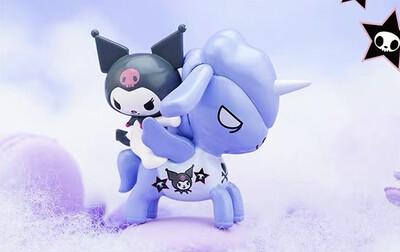 Tokidoki Unicorno X Hello Kitty & Friends Figure (Kuromi)