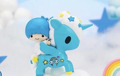 Tokidoki Unicorno X Hello Kitty & Friends Figure (Little Twin Stars - Kiki)