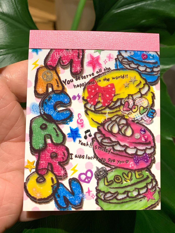 Japan Kamio Macaron Mini Memo Pad
