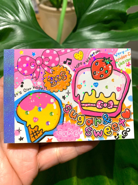 Crux Sugar & Sweets Mini Memo Pad