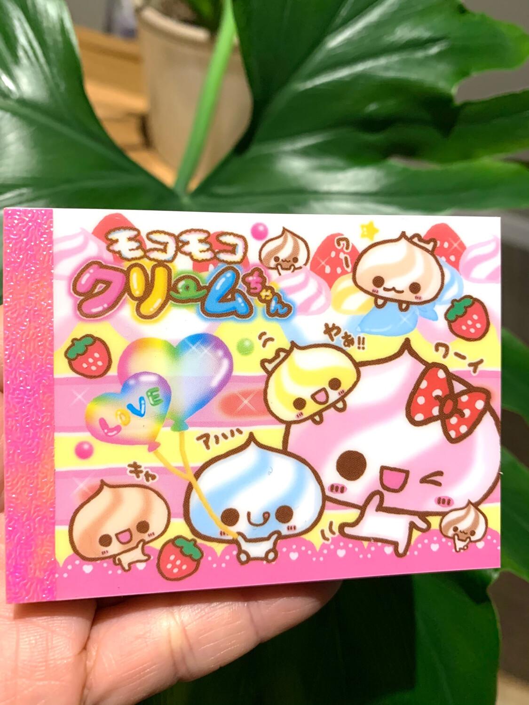 Kamio Whip Cream Baby Mini Memo Pad
