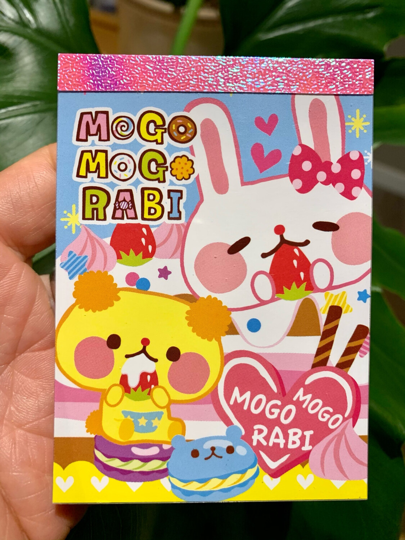 Kamio Mogo Mogo Rabi Mini Memo Pad