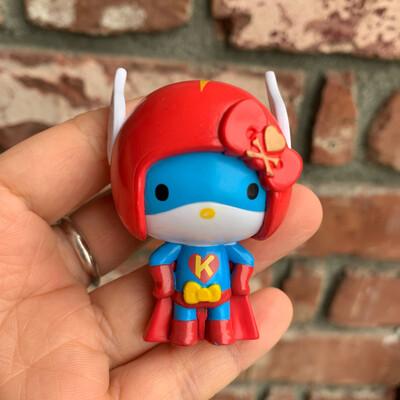 Hello Kitty Superhero Tokidoki Figure