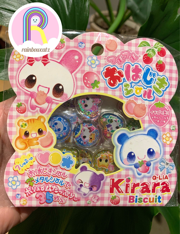 Q-Lia Kirara Biscuit Sticker Sack