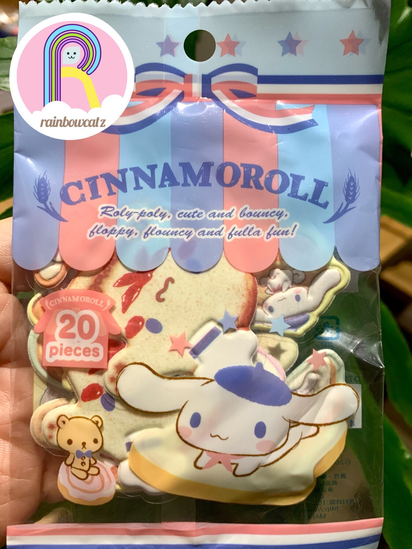 Sanrio Cinnamoroll Bakery Sponge Sticker Sack