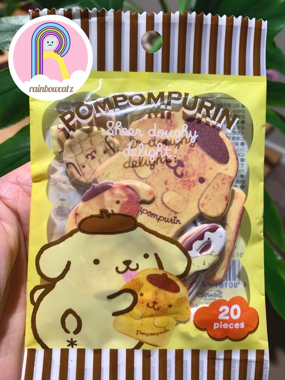 Sanrio Pompompurin Bakery Sponge Sticker Sack