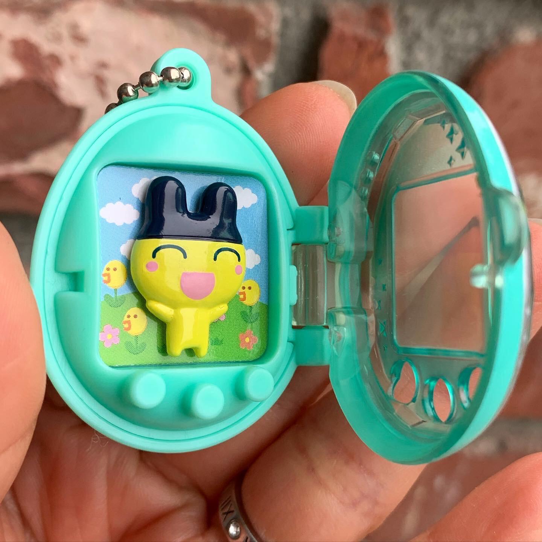Tamagotchi Miniature Keychain