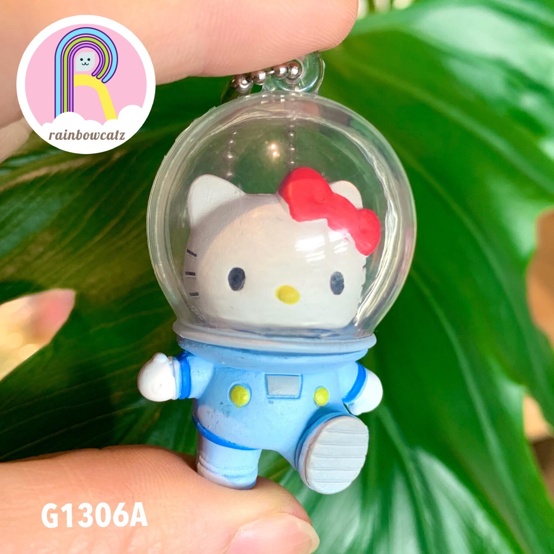 TTA Tanaka Tomy Sanrio Hello Kitty Astronaut Keychain