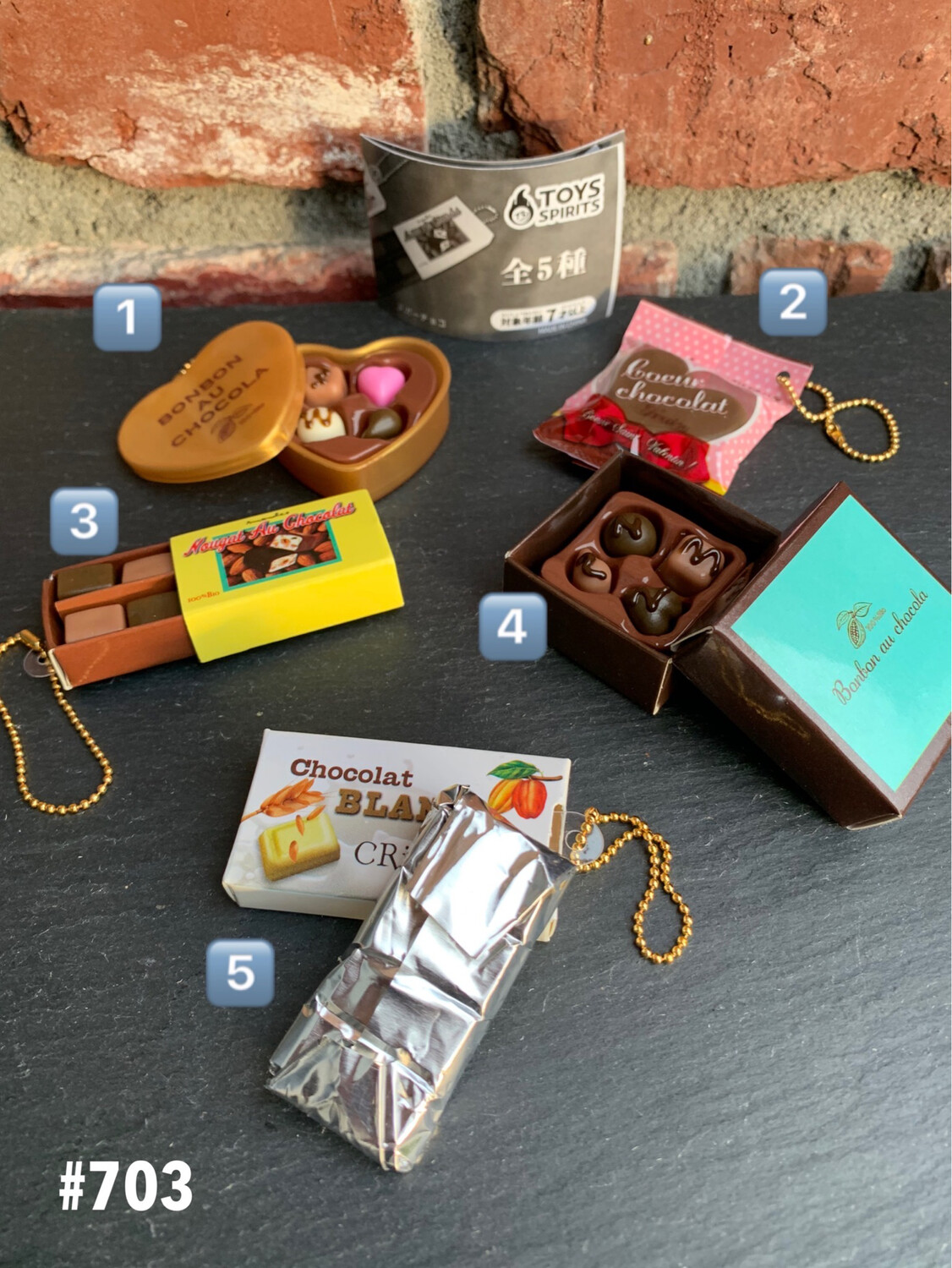 Toys Spirits Deluxe Chocolate 2 Keychain