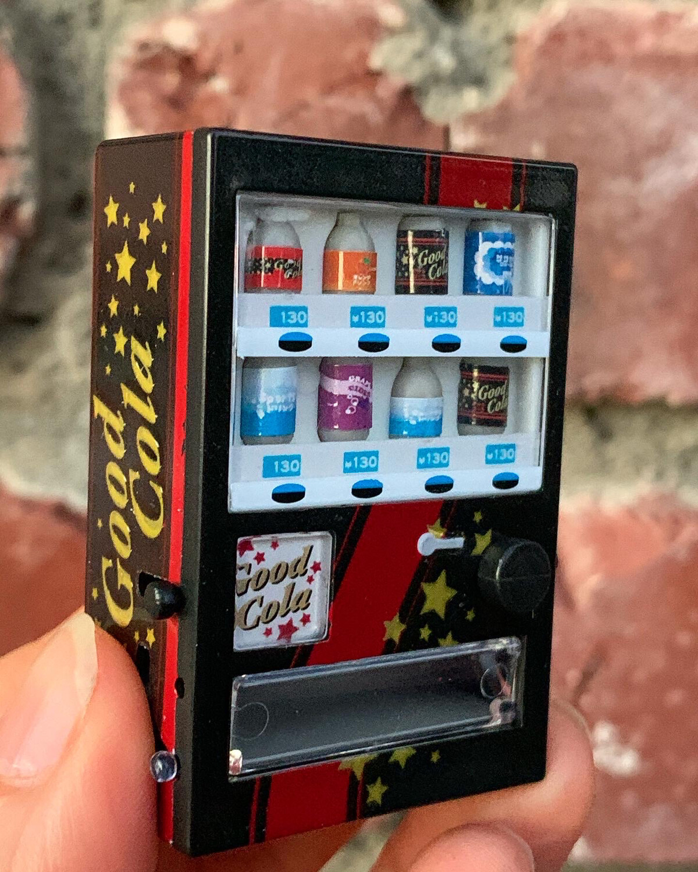 J. Dream Soda Beverage Vending Machine Miniature