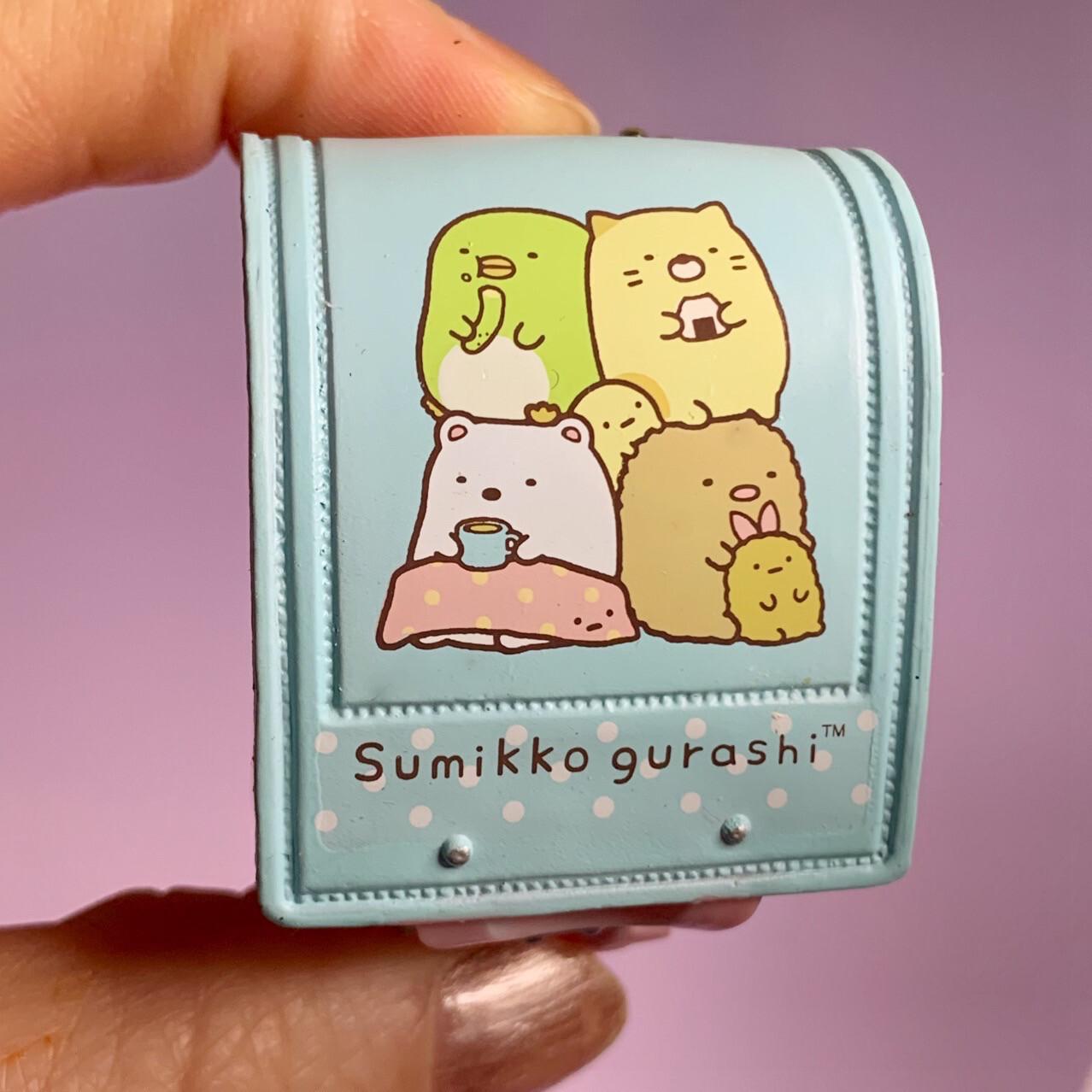 Re-ment Sumikko Gurashi Backpack Keychain