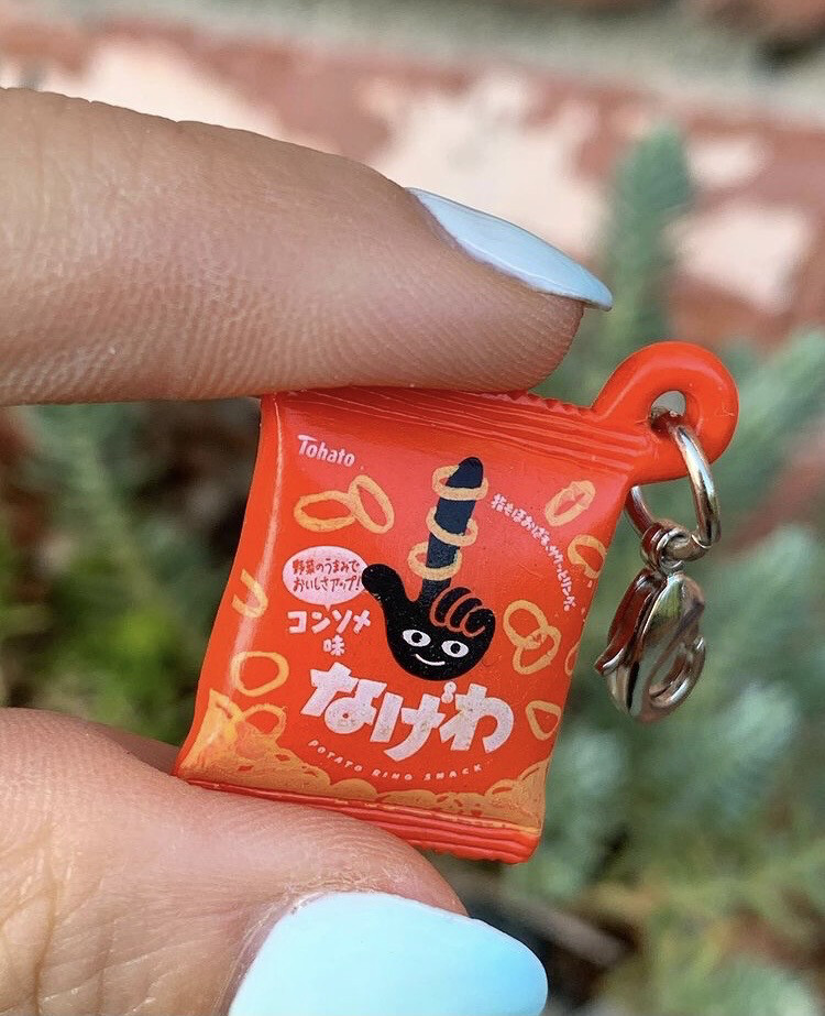 Bandai Tohato Snack Charm Mascot