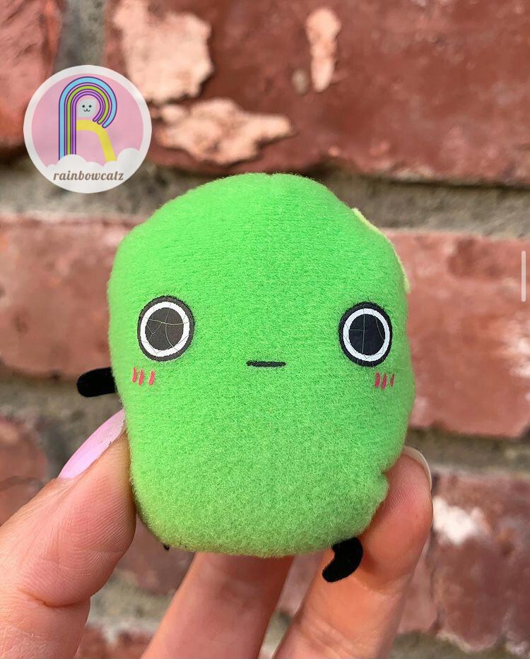 San-X Korokoro Mamepyon Bean Plush Magnet