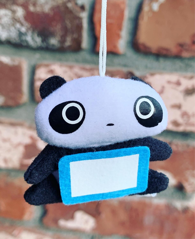 San-X Korokoro Tare Panda Plush Strap