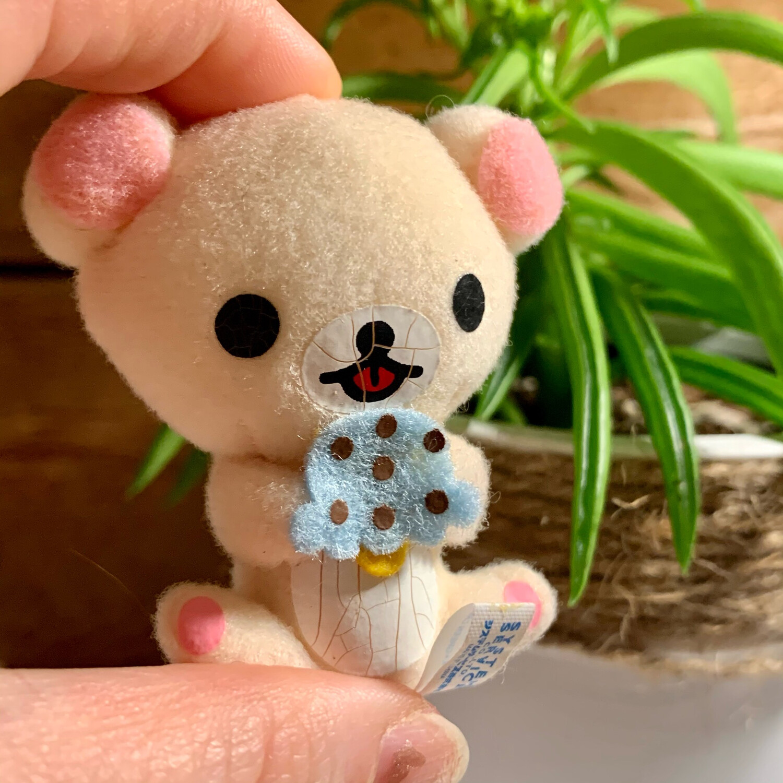 San-X Korooro Relax Bear Plush Magnet