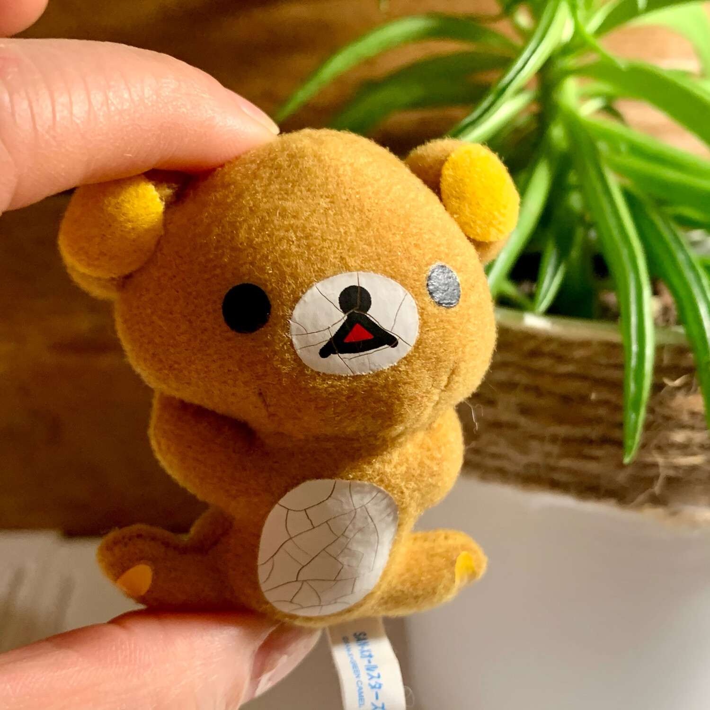 San-X Korokoro Relax Bear Plush Magnet