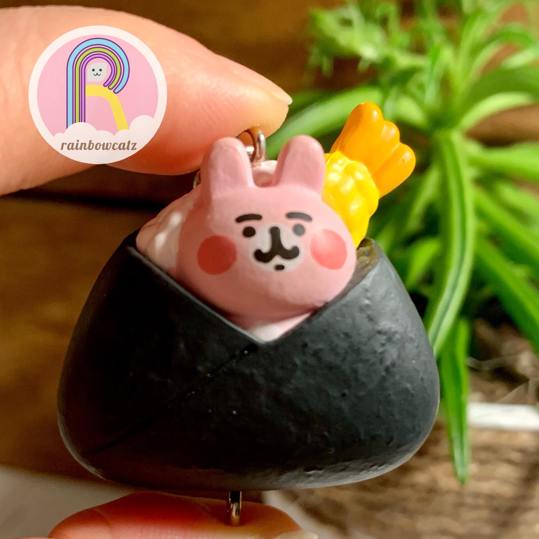 TTA Takara Tomy Kanahei Usagi Rice Ball Charm Mascot