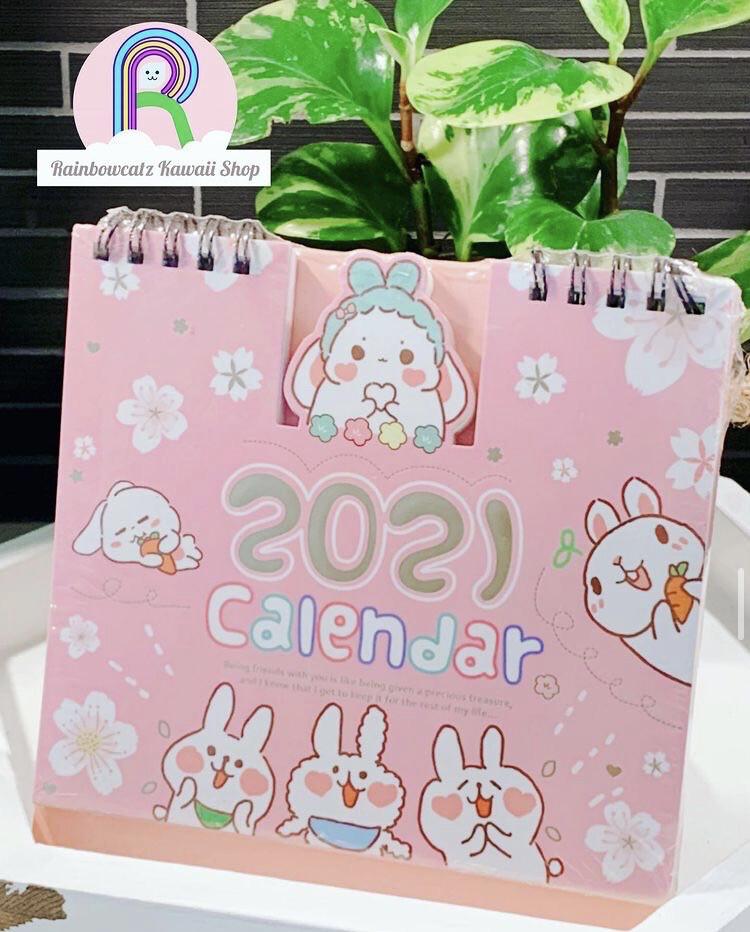 2021 Usagi Bunny Desktop Calendar