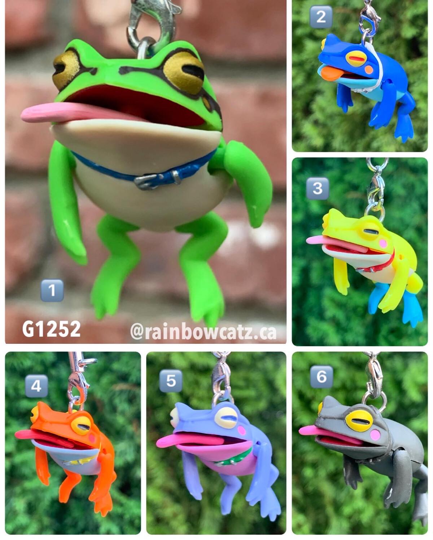 Kitan Club Dangle Frog Rain Mascot Strap