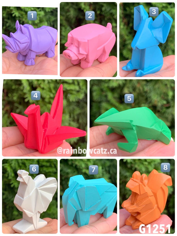 Yell Animal Origami Miniature