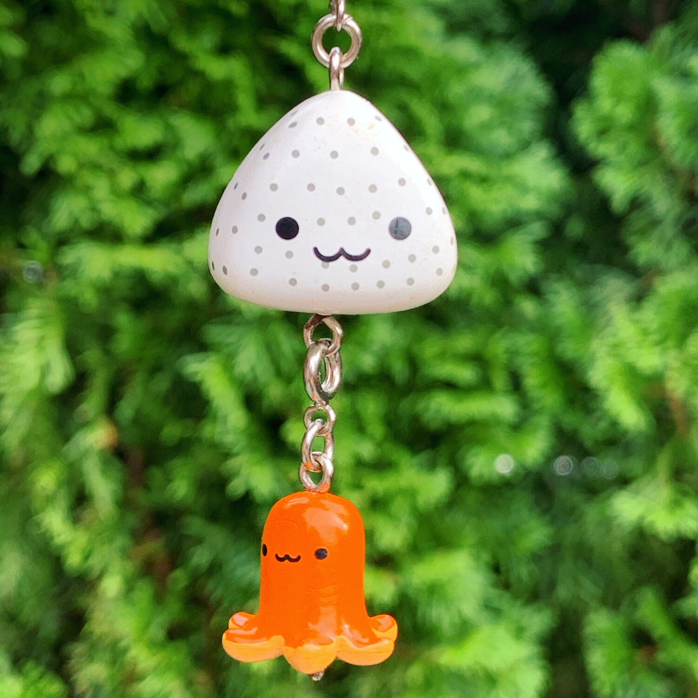 San-X Origiri Rice Ball Guy Mascot Strap
