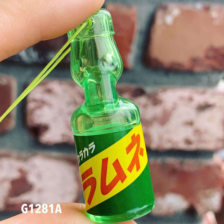 Epoch Ramune Soft Drink Bottle Mascot Strap
