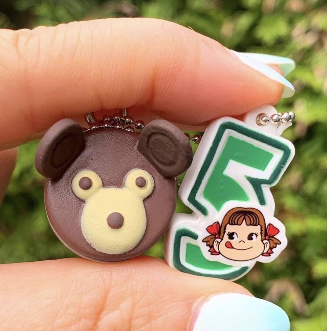 Bandai Peko Chan Cake Charm Mascot (#5)