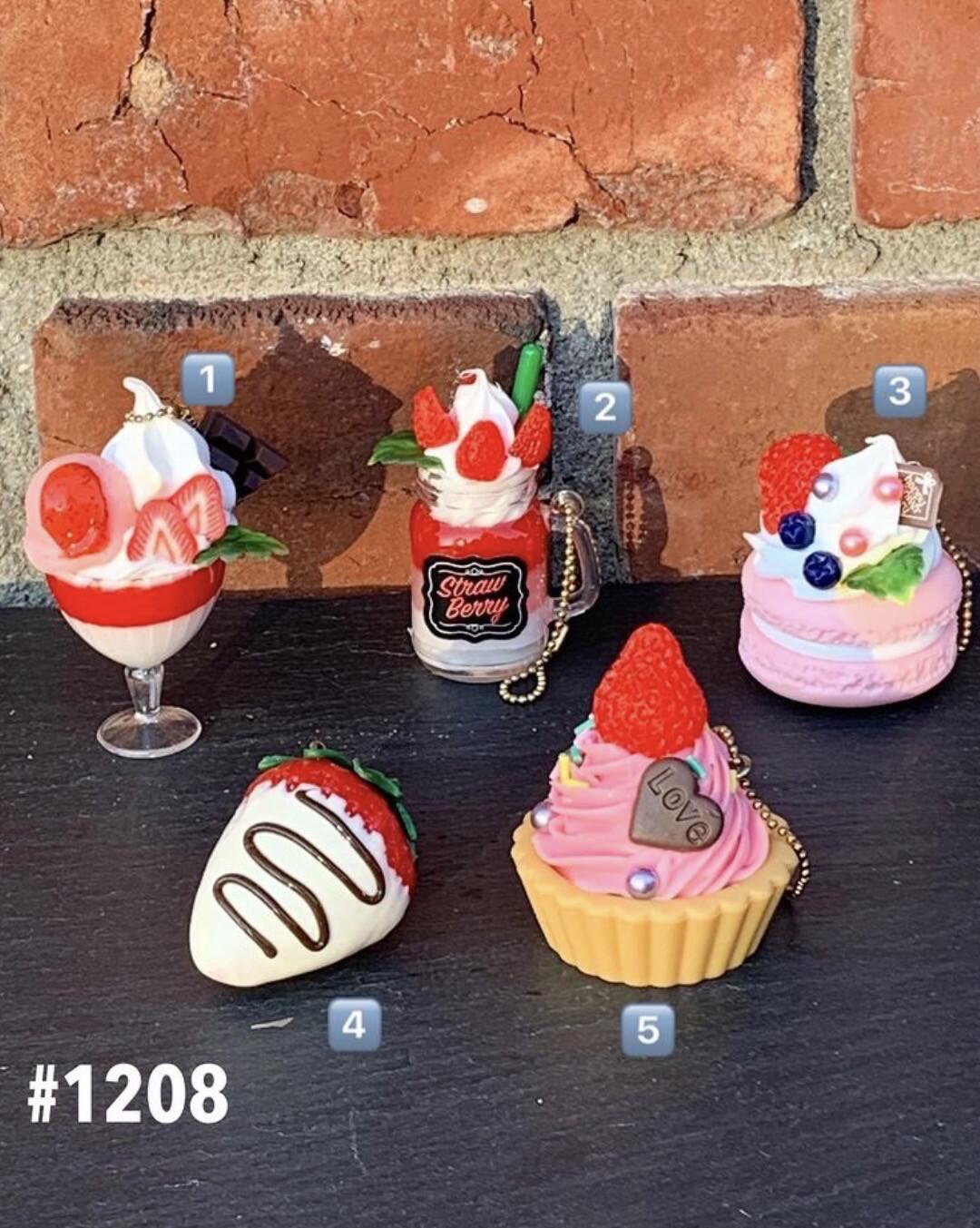 J. Dream Strawberry Mascot Miniature